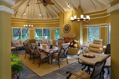 Amanda Webster Design: Traditional Eclectic Outdoor Interior Design / Photo: Neil Rashba