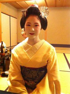 subtle Maiko kitsuke