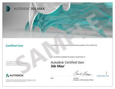 3ds Max Course Authorised Certification @D23DesignLounge