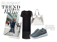 """NYFW Sports Chic"" by dreampairs ❤ liked on Polyvore featuring River Island"