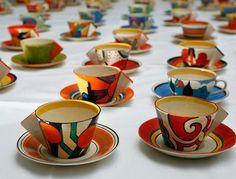 Art Deco Tea cups