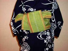 半巾帯の結び方(リボン返し結び) 着物のことなら着物専門店「丸や呉服店」