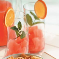 Summer Fruit Cooler Recipe | Taste of Home Recipes