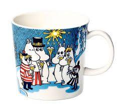 Moomin mug Millenium 2000 Moomin Mugs, Moomin Valley, Tove Jansson, Marimekko, Mug Designs, Mug Cup, Crafts To Do, Earthenware, Tea Set