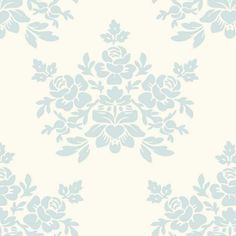 Papel de Parede Vintage Floral 24