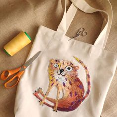 Photo by Katja Main in Tallinn, Estonia with @world_embroidery, @dmc_embroidery, and @dmc_france. Aucune description de photo disponible. Cross Stitch, Reusable Tote Bags, Embroidery, Sewing, France, Animals, Dressmaking, Animaux, Crossstitch