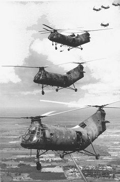 In December of 1961, the USNS docked in Saigon with 82 US Army Piasecki H-21 helicopters. A little more than 12 days later, Operation Chopper commenced.