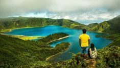 One of the most beautiful lake at equally amazing island, Sao Miguel. It is the largest and most accessible one out of 9 islands of Azores. There are definitely more number of tourists in Sao Miguel than any other island but it is still very far from the worm of commercialization. Lake Cidades is on the eastern part of the island where we spent 3 days. Azores, Equality, Islands, Most Beautiful, Number, Amazing, Water, Travel, Outdoor