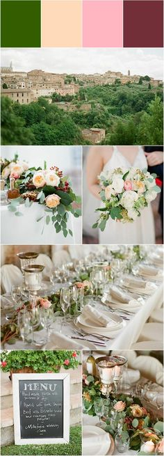 wedding color idea; Greg Finck Photography