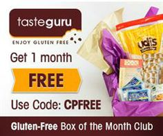 GET YOUR 1st MONTH for only $12.00 WITH COUPON CODE: CPFREE Readers will pay the $12 for shipping Taste Guru delivers only the best-tasting ...