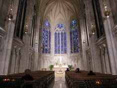 Chapel of Our Lady, St. Patrick's Cathedral, Manhattan