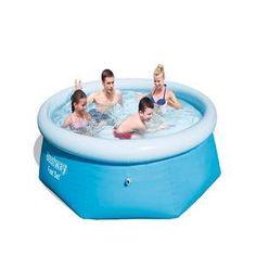 Bestway Fast Set Pool 244 X 66cm: Amazon.co.uk: Garden U0026