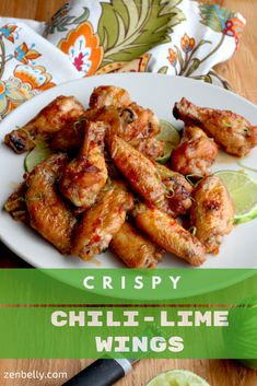 Chili-Lime Wings - zenbelly