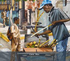Art by Lennox Coke- Jamaican