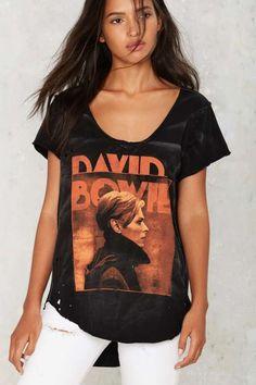 David Bowie Distressed Tee