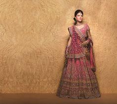 The Blushing Punjabi Bride  #BeautifulBrides possible duppatta design