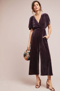 70f1d2311000 22 Best Velvet jumpsuit images