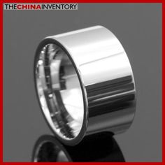 12MM SIZE 11 TUNGSTEN CARBIDE WEDDING BAND WIDE RING R4007