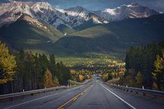 On Highway 40 Kananaskis Country Alberta- Canada