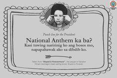 'Stupid is Forevermore': 15 Miriam Santiago quotes that will make you think and laugh Hugot Lines Tagalog Funny, Tagalog Quotes Hugot Funny, Memes Tagalog, Hugot Quotes, Filipino Quotes, Pinoy Quotes, Filipino Funny, Tagalog Love Quotes, Bisaya Quotes