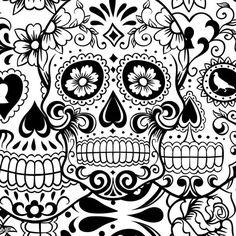 Sugar Skull Tumblr Theme 2015-2016   Moda 2014-2015