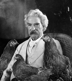 Advice From Mark Twain on Stealing Chickens