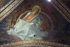 FILIPPO LIPPI (Fra) - San Matteo Evangelista - affresco - 1452-1465 - Volta della Cappella Maggiore, Cattedrale di Santo Stefano, Prato