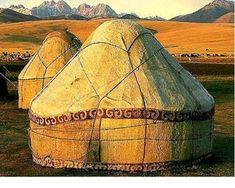 Yurts....  TER HERE YA GO