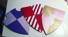 Diy wooden toy shields for the kids