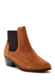 Steven By Steve Madden - Raeven Suede Bootie at Nordstrom Rack. Free Shipping on orders over $100.