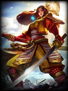 #SMITE | Amaterasu (Japanese Goddess)