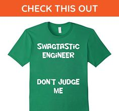 Mens Swag Engineer 3XL Kelly Green - Careers professions shirts (*Amazon Partner-Link)