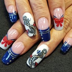 Sailor Nails By Oli123 From Nail Art Gallery