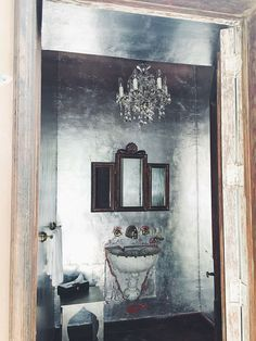San Miguel inspired the design in my current renovation due to the metals and textures.