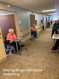 This nursing home found a clever way to keep doing bingo nights while having its residents maintain distance. Bingo Night, Public Knowledge, Doctor Office, Taxi Driver, Morning Humor, Business For Kids, Our Life, Make You Smile, Clever