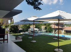 perfect shade solution for pool and spa areas, gardens and large courtyards and patios.
