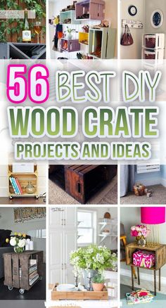 Wooden Benches, Wood Crates, Furniture Makeover, Diy Furniture, Sewing Projects, Diy Projects, Storage Places, Flower Planters, Diy Wood