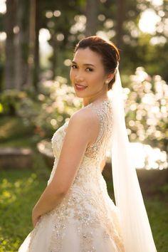 bride aira in jazel sy gown. www.jazelsy.com for inquiries: jazelsysec@gmail.com