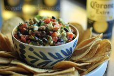 Mexican Salsa Dip | Gather and Graze