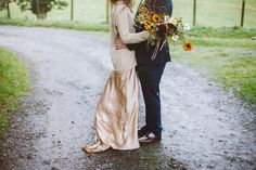 A Sublime Silk Dress and Cashmere Jumper for an Autumn Scottish Castle Wedding   Love My Dress® UK Wedding Blog