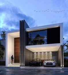 Olivos House designed by JPR Architecture Location: - Modern Architecture - Fachadas Residential Architecture, Amazing Architecture, Contemporary Architecture, Architecture Design, Contemporary Furniture, Contemporary Stairs, Contemporary Apartment, Contemporary Office, Contemporary Landscape