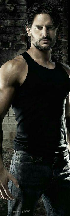 Joe Manganiello when you wrap True Blood how would you like to become part of my BDB board? Black Dagger Brotherhood, Gorgeous Men, Beautiful People, Hommes Sexy, Raining Men, Karl Urban, Alexander Skarsgard, Taylor Kitsch, Good Looking Men