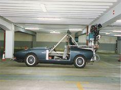 Camera car for car park shooting on Tomorrow Never Dies