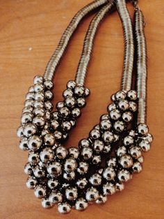 Black pearl Necklace on Etsy, $12.00