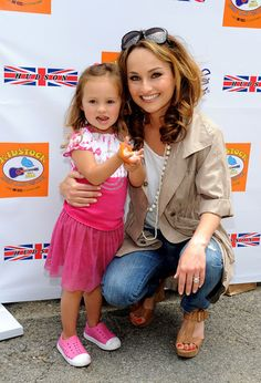 Giada de Laurentiis Attends the Fifth Annual Kidstock With Daughter Jade.