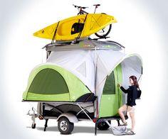 Adventure Gear Camping Trailer | DudeIWantThat.com