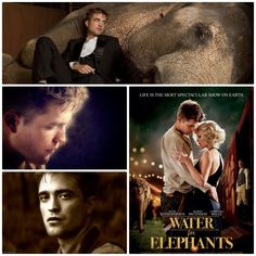 "Robert Pattinson portrays the character of Jacob Jankowski in the movie ""Water for Elephants""....."