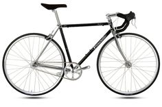 Holy gorgeous single speed. The chrome lugs leave me breathless!