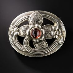 Brooch, Georg Jensen, early 20th century, Lang Antiques